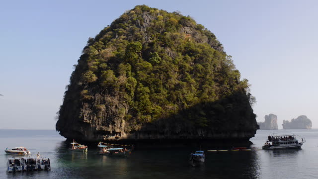 koh phi phi le, thailand - phi phi le stock videos & royalty-free footage