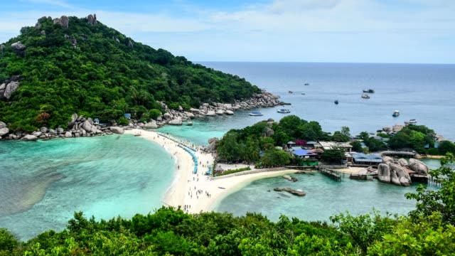 koh tao - a paradise island in thailand. - ko samui stock videos and b-roll footage