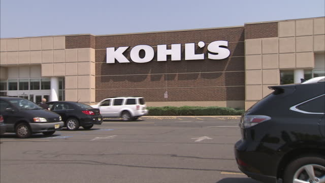 kohl's store front exteriors - kohls stock videos & royalty-free footage