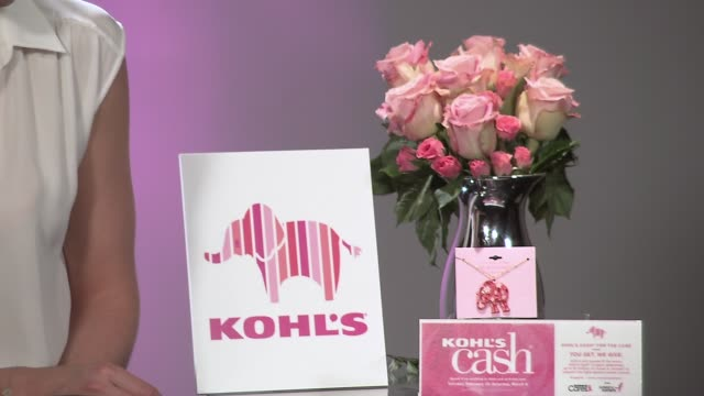 CHYRON Kohls Teams Up with Katie Holmes to Encourage Women to Start the Conversation About Breast Cancer on February 13 2014 in New York City