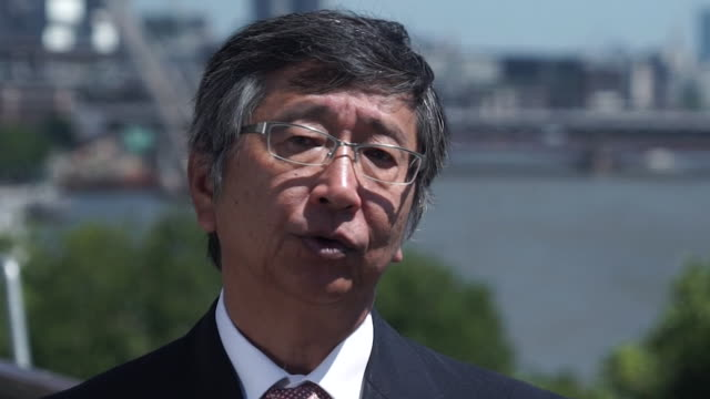 Koji Tsuruok the Japanese Ambassador to the UK talks about the 'uncertainty' of the UK's trade agreements with Europe post Brexit