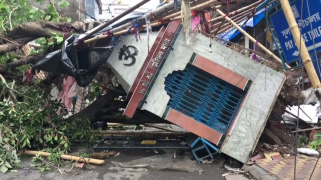 kolkata awoke to flooded streets, uprooted trees and cars window-deep in water on thursday, after eastern india and bangladesh were hit by cyclone... - vortex stock videos & royalty-free footage