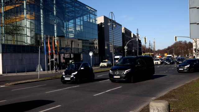 konrad-adenauer-haus in berlin - urban sprawl stock videos & royalty-free footage
