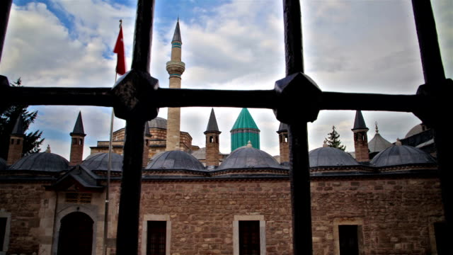 konya mevlana museum - konya stock videos and b-roll footage
