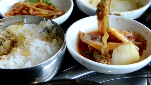 cnapfoo896 korea food - staple stock videos & royalty-free footage