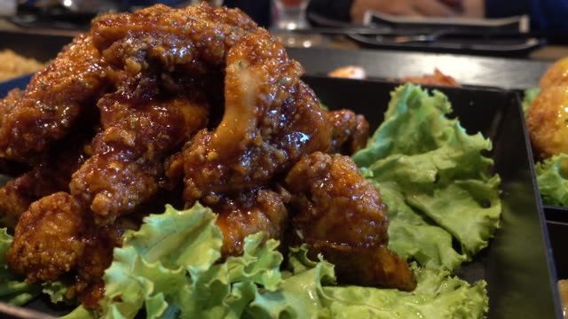 Korea fried chicken