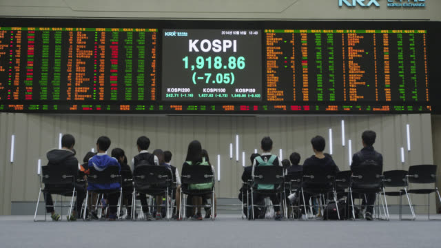 korea stock exchange - trading screen stock videos & royalty-free footage