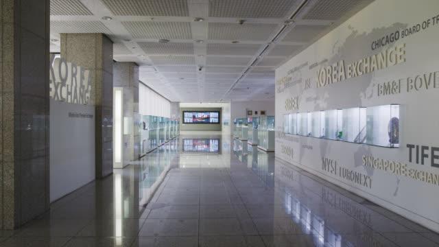 vídeos de stock e filmes b-roll de korea stock exchange - ausência