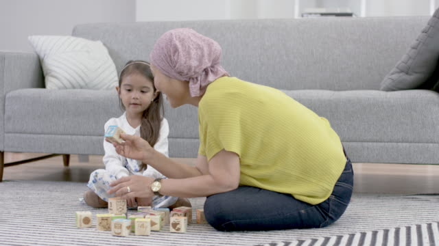 Korean woman with cancer spends precious time with granddaughter