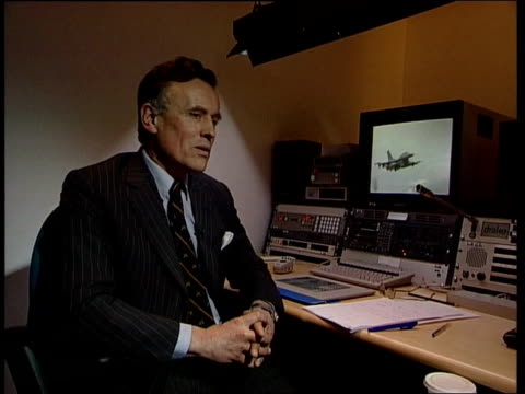 albanian refugee convoy attack; kosovo: albanian refugee convoy attack; itn england: london: int edward cowan interviewed sot - the pilot describes... - 1990 1999 stock videos & royalty-free footage