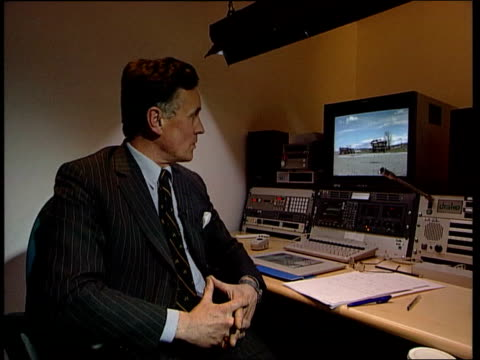 albanian refugee convoy attack; kosovo: albanian refugee convoy attack; itn england: london: int edward cowan interviewed sot - the convoy is said to... - 1990 1999 stock videos & royalty-free footage