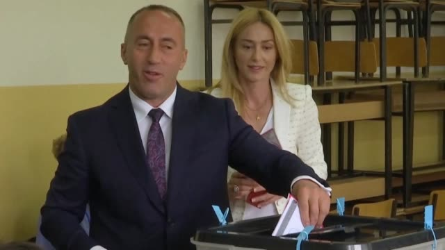kosovo began voting sunday for a new parliament that will have to navigate tense relations with serbia endemic corruption and possible war crimes... - endemic stock videos and b-roll footage