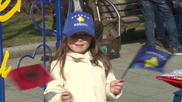 Kosovo celebrates 10 years since it declared independence a moment of pride for its ethnic Albanian majority although sovereignty remains fiercely...