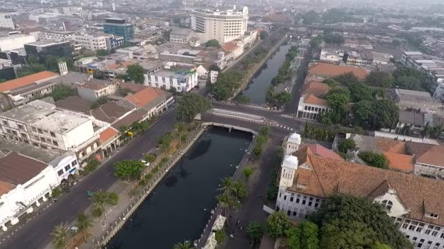 Kota Tua Jakarta, or Old Batavia, Aerial