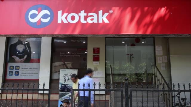 A Kotak Mahindra Bank Ltd Punjab National Bank Axis Bank Ltd ICICI Bank Ltd Union Bank of India State Bank of India and HDFC Bank Ltd in Mumbai India...