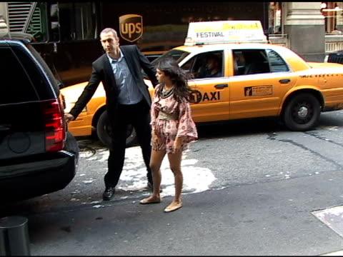 Kourtney Kardashian and Scott Disick at the Gansevoort Hotel in New York