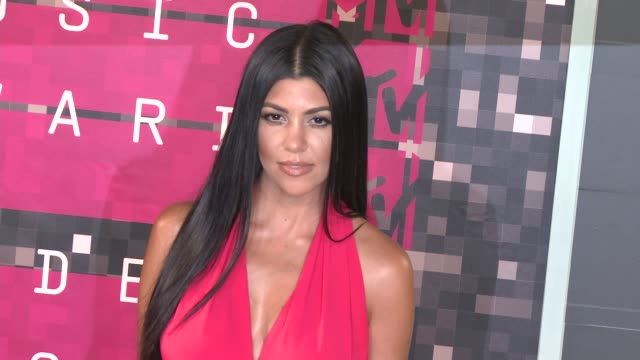 Kourtney Kardashian at the 2015 MTV Video Music Awards at Microsoft Theater on August 30 2015 in Los Angeles California