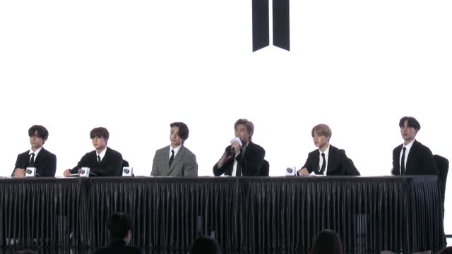 KOR: BTS hope new album will be 'comfort to a lot of people'