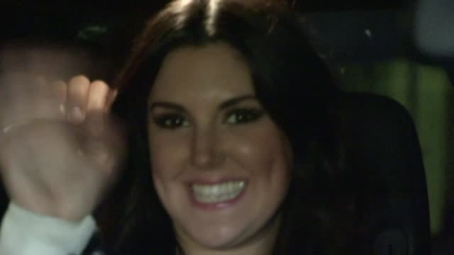 kree harrison departs the american idol final after party in los angeles 05/16/13 - american idol stock videos and b-roll footage