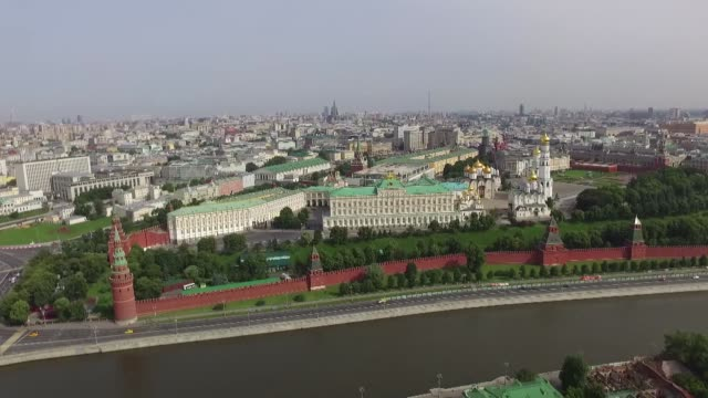 kremlin in moscow - moscow russia stock videos & royalty-free footage