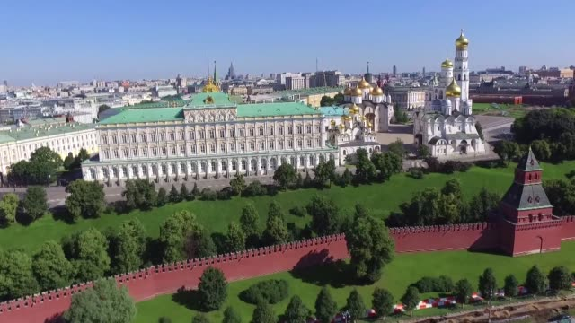 kremlin in moscow - russia stock videos & royalty-free footage