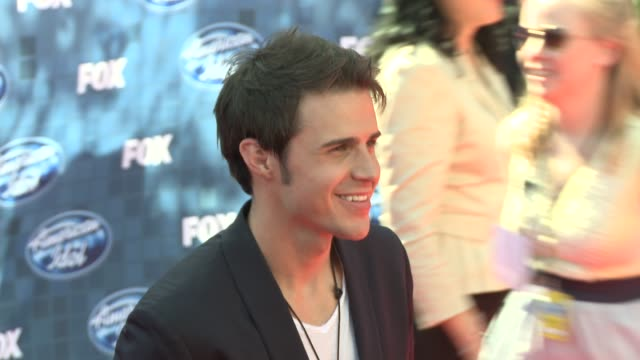 kris allen at the fox's 'american idol 2011' finale results show at los angeles ca - results show stock videos & royalty-free footage