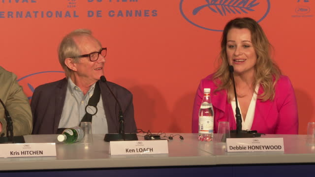 FRA: 'Sorry We Missed You' Press Conference - The 72nd Cannes Film Festival