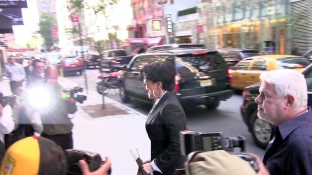 Kris Jenner arrives at the Gansevoort Hotel in New York