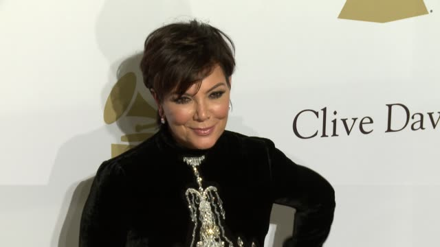 Kris Jenner at the 2017 PreGrammy Gala Honoring Debra L Lee With Grammy Salute To Industry Icons Award at The Beverly Hilton Hotel on February 11...