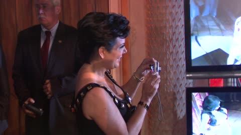 kris jenner, kim kardashian and kim's wax figure at the kim kardashian wax figure unveiling at madame tussauds at new york ny. - madame tussauds stock videos & royalty-free footage
