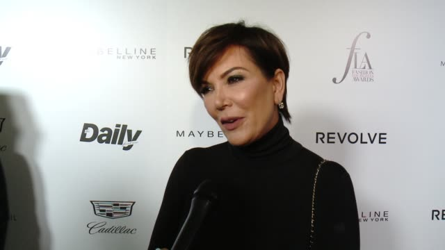 INTERVIEW Kris Jenner on why she came out on supporting Carine Roitfeld reminisces about when Kim worked with Carine and how proud she was on Bella...