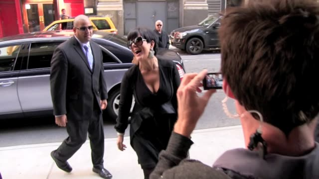 Kris Jenner returns to Gansevoort Hotel after hosting the 'Today Show' in New York 10/05/11