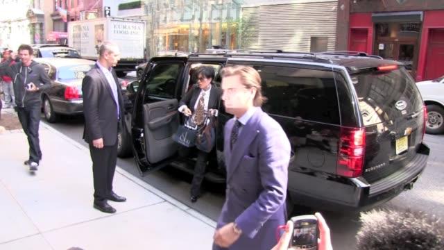 Kris Jenner Scott Disick at the Gansevoort Hotel in New York 10/6/11