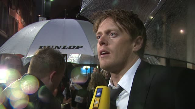 Kris Marshall at the London Film Festival Easy Virtue premiere at London