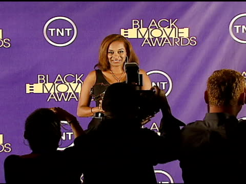 kriss turner winner outstanding achievement in screenwriting for 'something at the 2006 tnt black movie awards press room at wiltern theater in los... - wiltern theater stock videos and b-roll footage