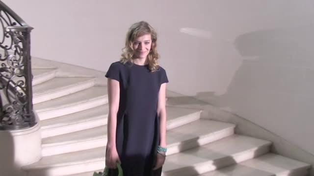 Kriss van Asche Victoire de Castelane Ni Ni Celine Sallette Gaia Repossi Diane on Furstenberg Ricardo Tisci inside 2012 Dior Haute Couture Paris...