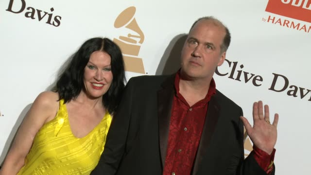 stockvideo's en b-roll-footage met krist novoselic at the 2016 pregrammy gala and salute to industry icons honoring irving azoff at the beverly hilton hotel on february 14 2016 in... - irving azoff