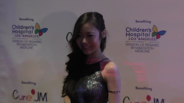 krista marie yu at the annual children's hospital los angeles holiday party and toy drive at avalon nightclub in hollywood at celebrity sightings in... - children's hospital stock videos & royalty-free footage