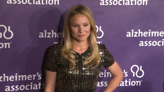 Kristen Bell at the 19th Annual 'A Night At Sardi's' Benefitting The Alzheimer's Association at Beverly Hills CA