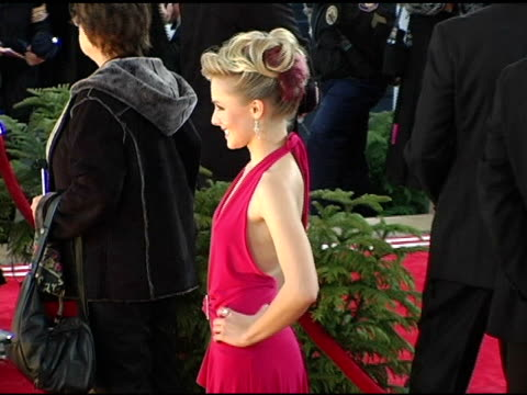 kristen bell at the 2005 people's choice awards arrivals at the pasadena civic auditorium in pasadena california on january 10 2005 - kristen bell stock videos and b-roll footage