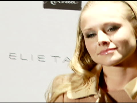 Kristen Bell at the Elie Tahari Celebrates Opening of New Boutique Within Saks Fifth Avenue Benefiting the Alliance For Children's Rights at Saks...