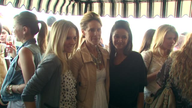 kristen bell austiyn zung emmanuelle chriqui at the loft fall 2010 style studio press preview and cocktail party at los angeles ca - kristen bell stock videos and b-roll footage