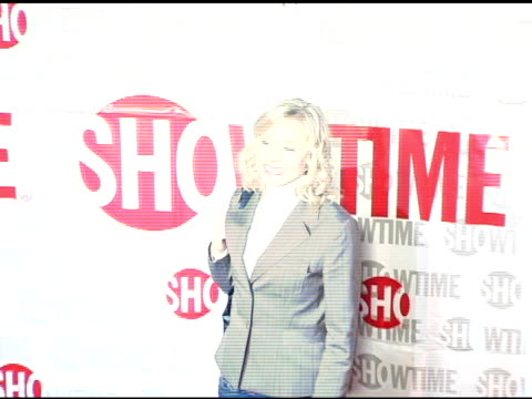 kristen bell of 'reefer madness' at the star-studded tca press tour party hosted by showtime at universal studios in universal city, california on... - showtime video stock e b–roll