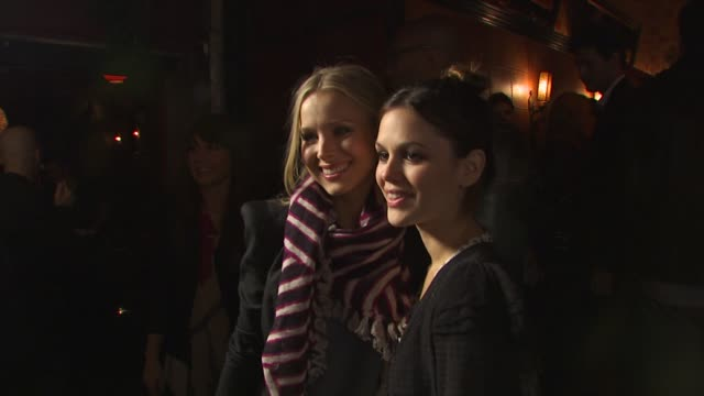 kristen bell rachel bilson at the madewell fall 2009 denim tour with lucky magazine at hollywood ca - kristen bell stock videos and b-roll footage