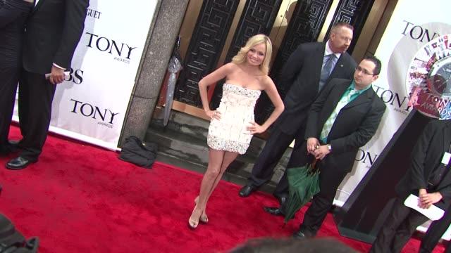 Kristen Chenoweth at the 64th Annual Tony Awards at New York NY