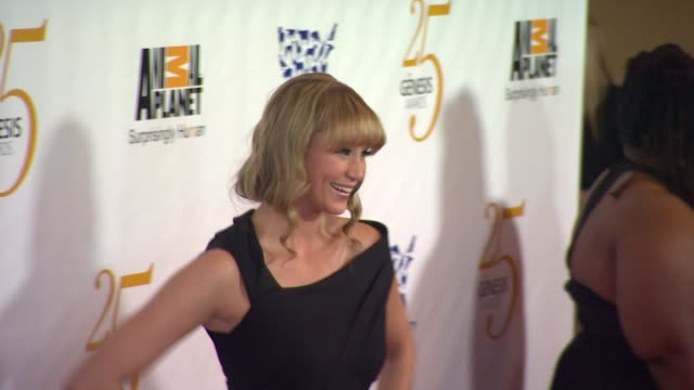kristen renton at the the 25th anniversary genesis awards presented by the humane society of the united states at century city ca - century city stock videos & royalty-free footage