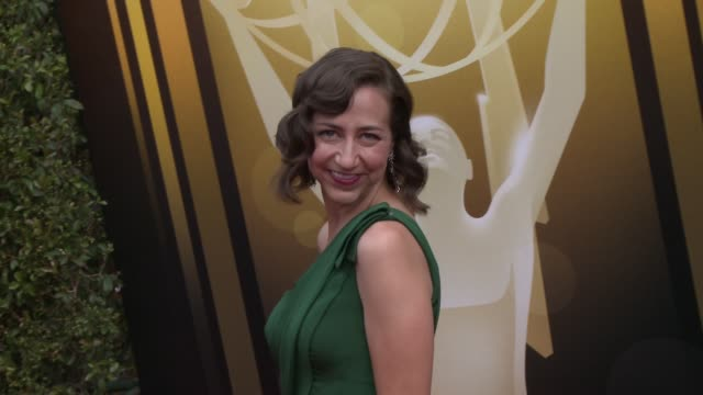 kristen schaal at the 2015 creative arts emmy awards at microsoft theater on september 12 2015 in los angeles california - emmy awards stock-videos und b-roll-filmmaterial
