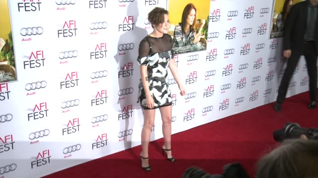 kristen stewart at afi fest 2014 presented by audi still alice premiere at dolby theatre on november 12 2014 in hollywood california - kristen stewart stock videos and b-roll footage