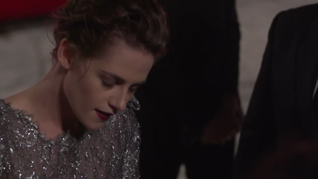 slomo kristen stewart at 'equals' red carpet 72nd venice film festival at palazzo del cinema on september 05 2015 in venice italy - kristen stewart stock videos and b-roll footage