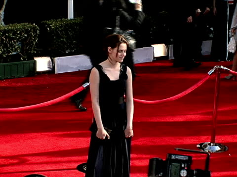 kristen stewart at the 14th annual screen actors guild awards at los angeles ca - kristen stewart stock videos and b-roll footage